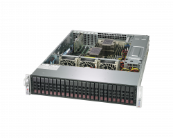 Supermicro Storage Server 2029P-E1CR24H/L Front Top