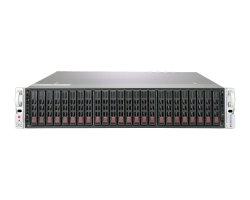 Supermicro Storage Server 2029P-E1CR24H/L Front