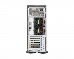 Supermicro Workstation 7048A-T Back