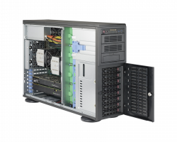 Supermicro Workstation 7048A-T Side
