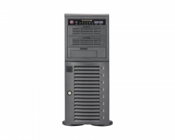 Supermicro Workstation 7048A-T Front