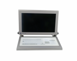 "21.5"" HMI Monitor with Keyboard for Cleanroom"