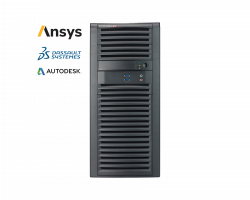 Supermicro Workstation 7039A-I - Ansys, Dassault systemes and Autodesk