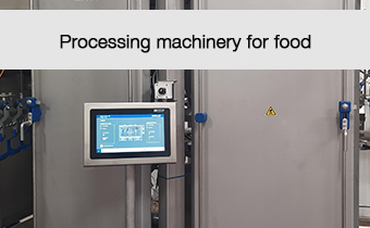 Processing machinery for food